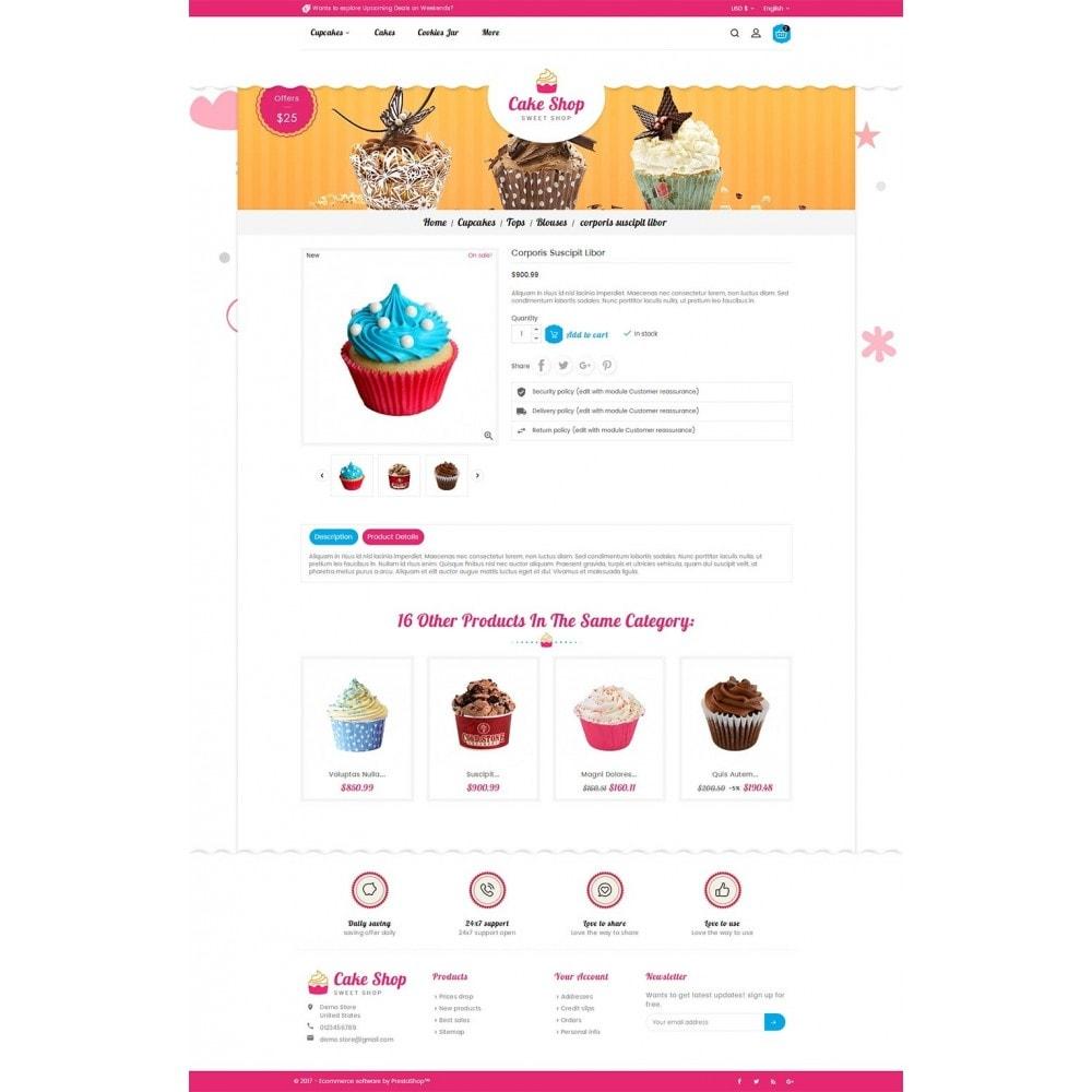 theme - Cibo & Ristorazione - Cake Shop - 6