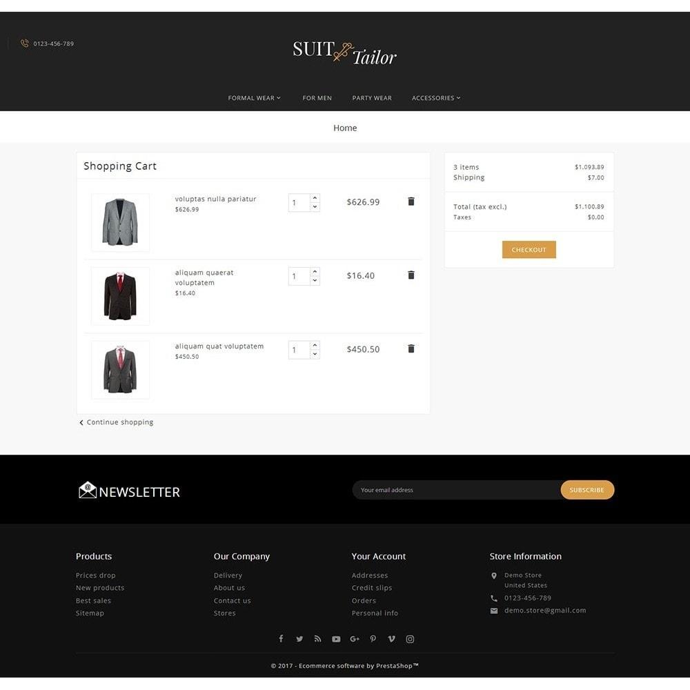 theme - Moda & Calzature - Suit/Tailor Store - 7