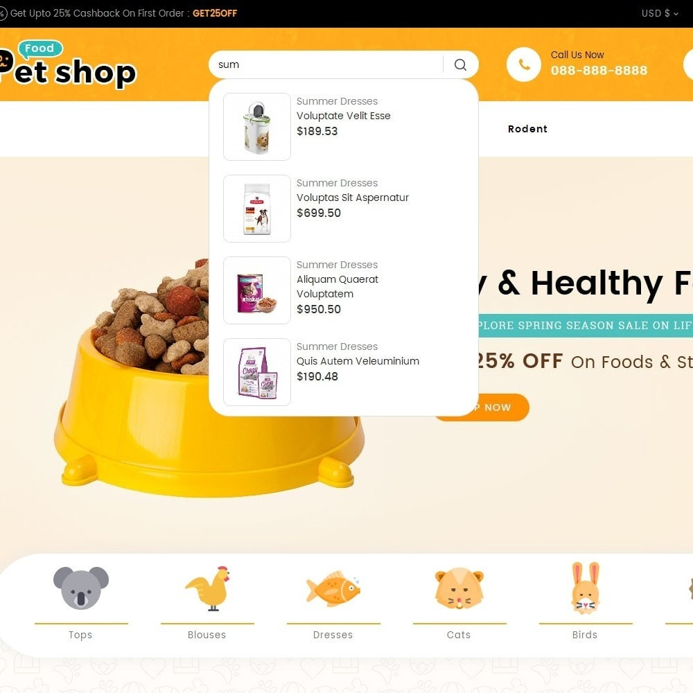 theme - Animali - Pet Food - 10