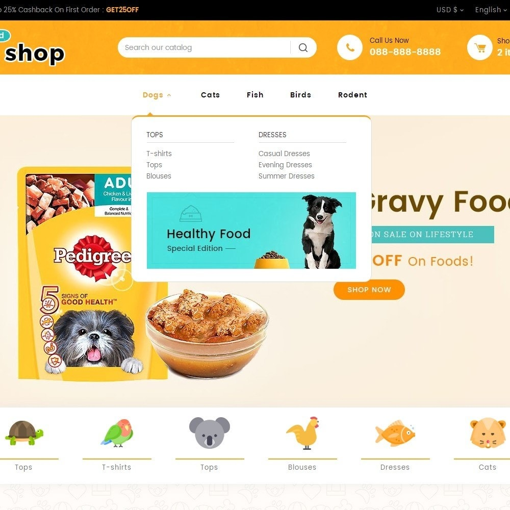 theme - Animales y Mascotas - Pet Food - 10