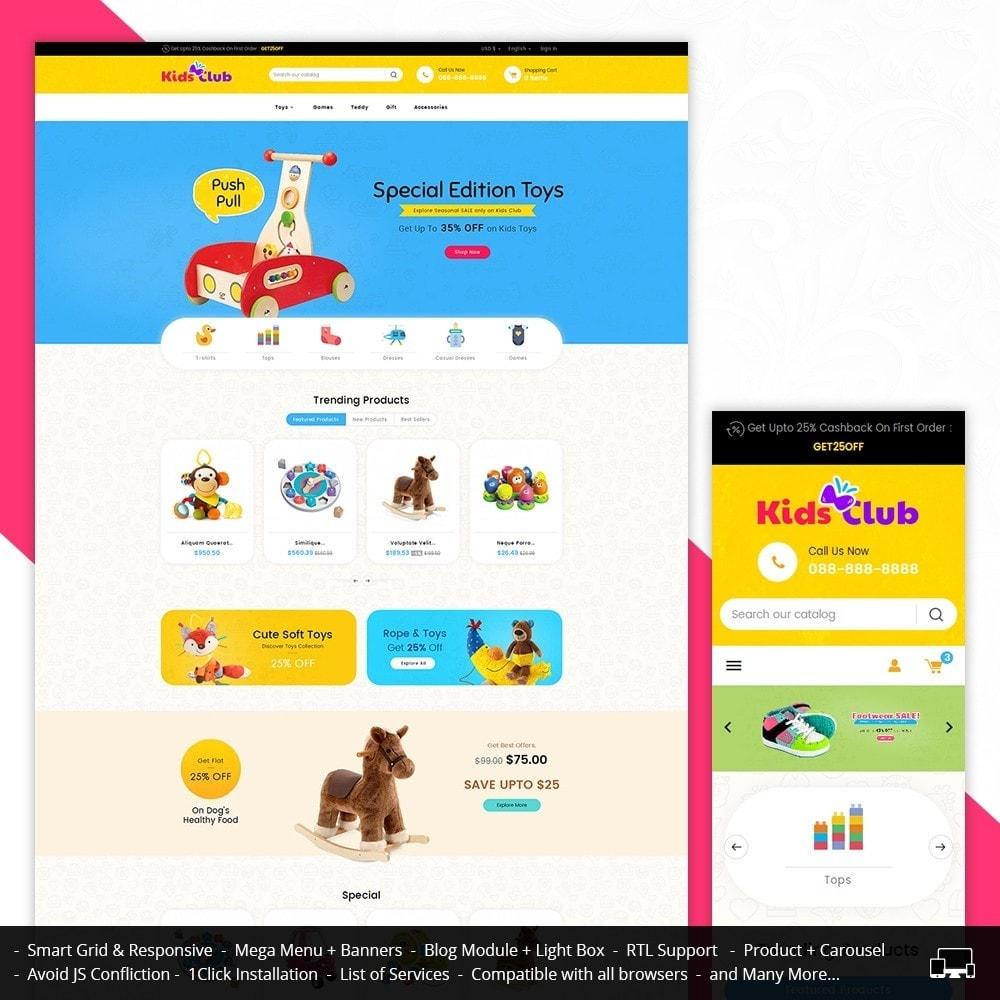 theme - Enfants & Jouets - Kids Toy Club - 2