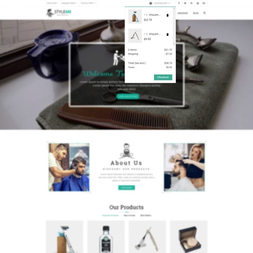 theme - Gesundheit & Schönheit - Styleme - Barber Store - 6
