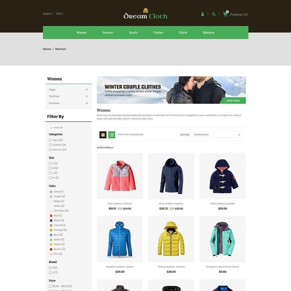 theme - Mode & Schuhe - Dream Cloth Store - 3