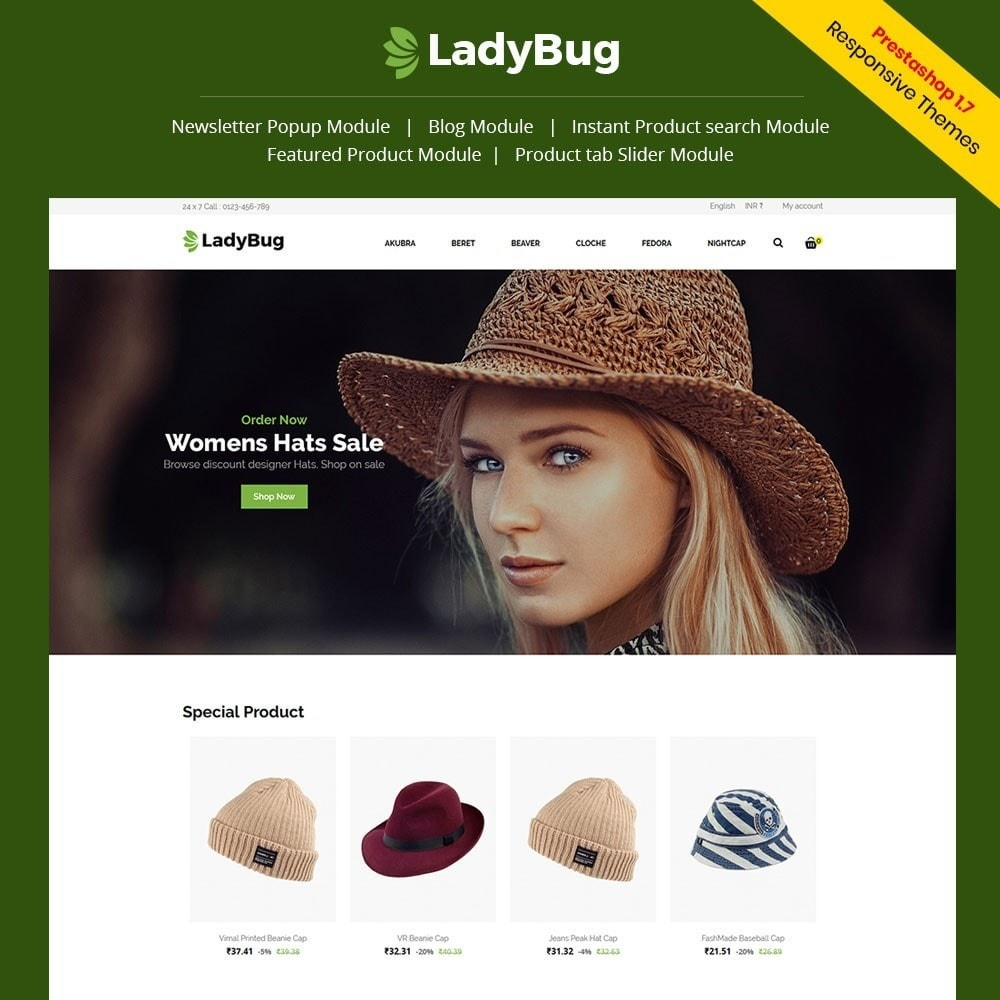 theme - Mode & Schoenen - Lady Bag  Store - 1