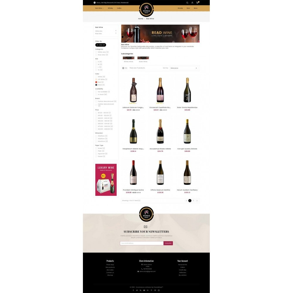 theme - Getränke & Tabak - WineYard Store - 4