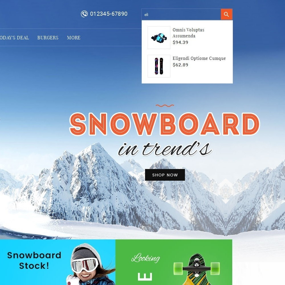 theme - Deportes, Actividades y Viajes - Ski & Snow Boards - 10