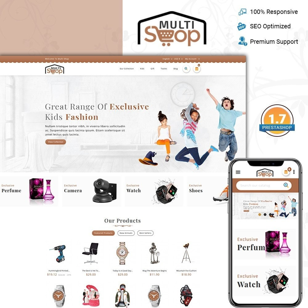theme - Mode & Schuhe - MultiShop - Multi Store - 1
