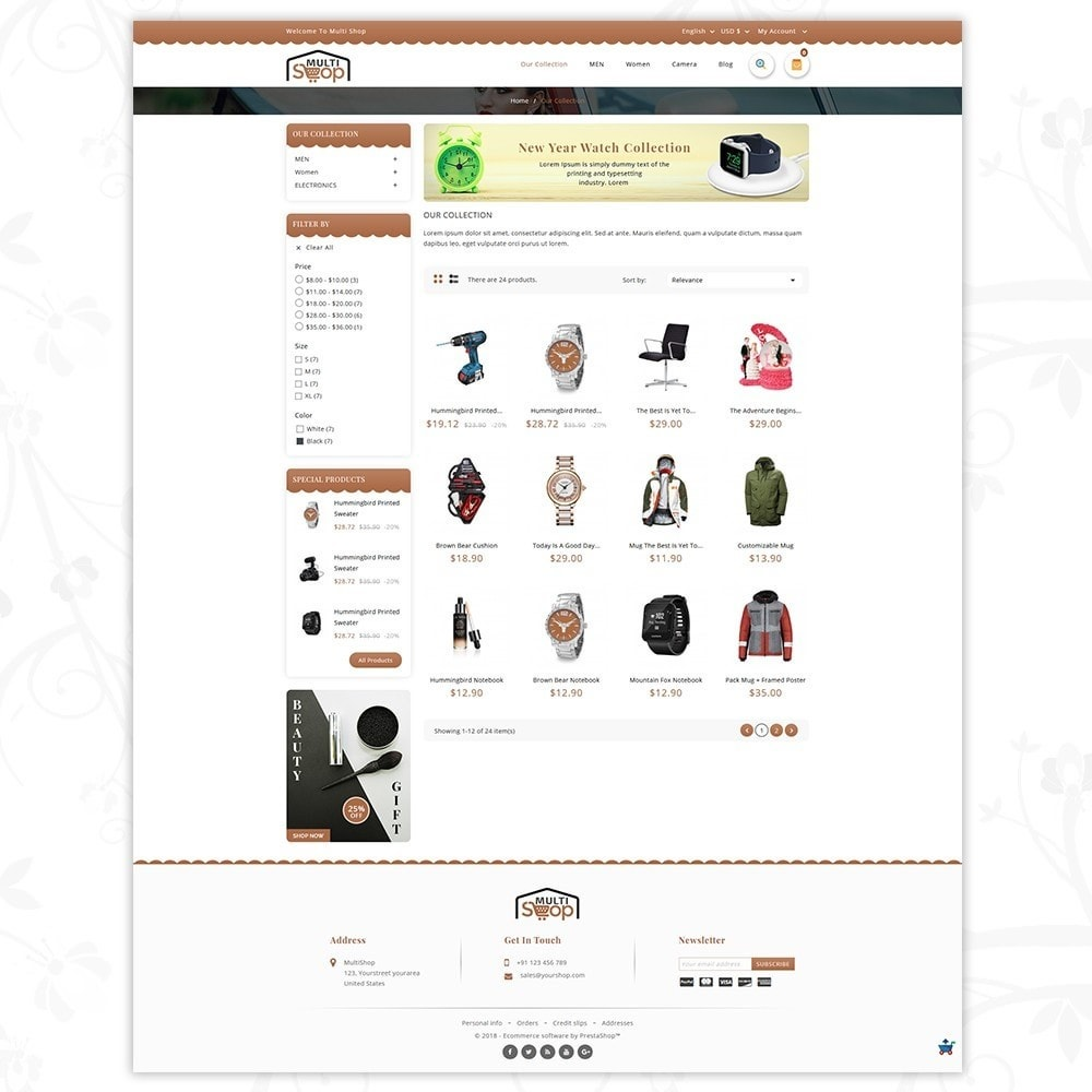 theme - Мода и обувь - MultiShop - Multi Store - 3