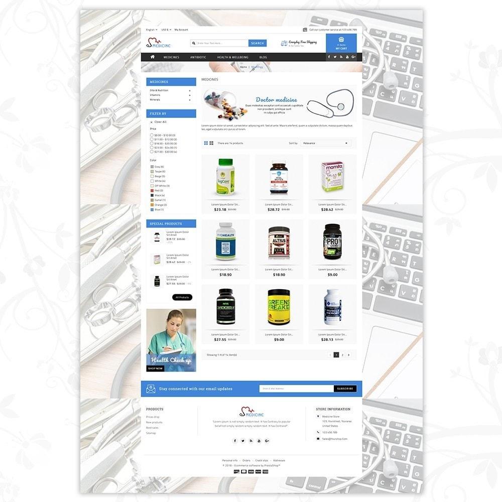 theme - Здоровье и красота - Medicine Store - 3