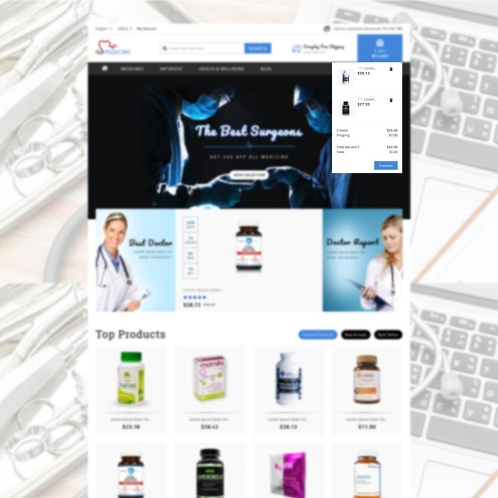 theme - Salud y Belleza - Medicine Store - 6