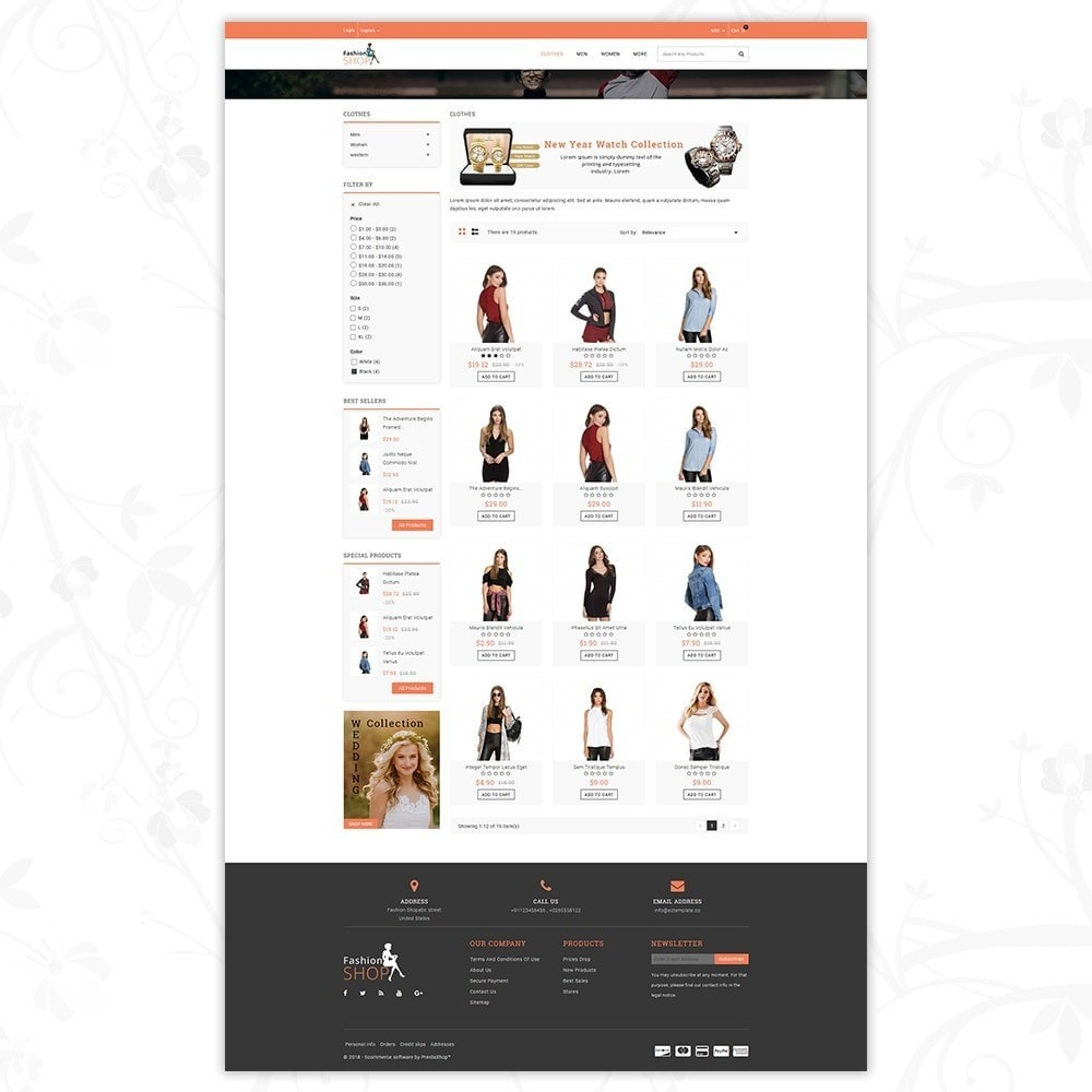 theme - Мода и обувь - Fashion Shop - Multipurpose Store - 3