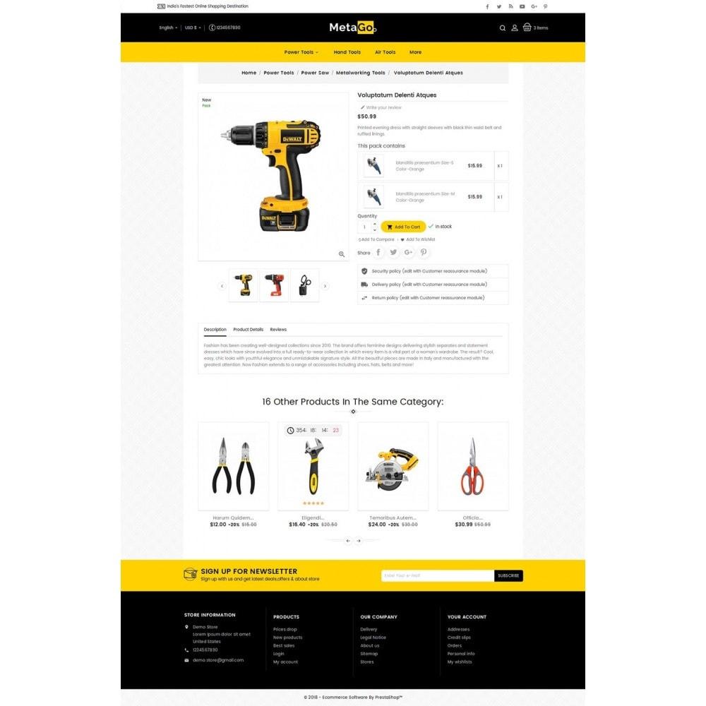 theme - Heim & Garten - Melano Power Tools - 6