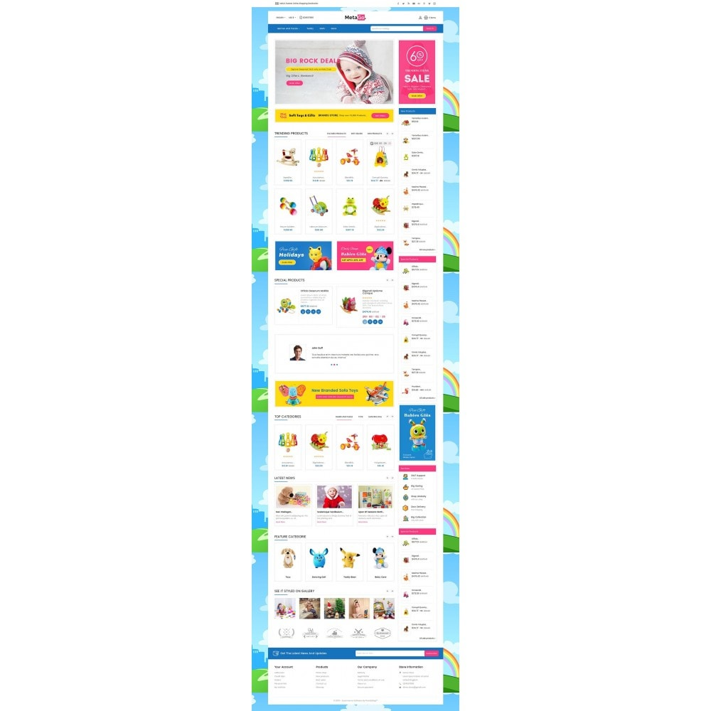 theme - Kinder & Spielzeug - Melano Kids Toys - 3