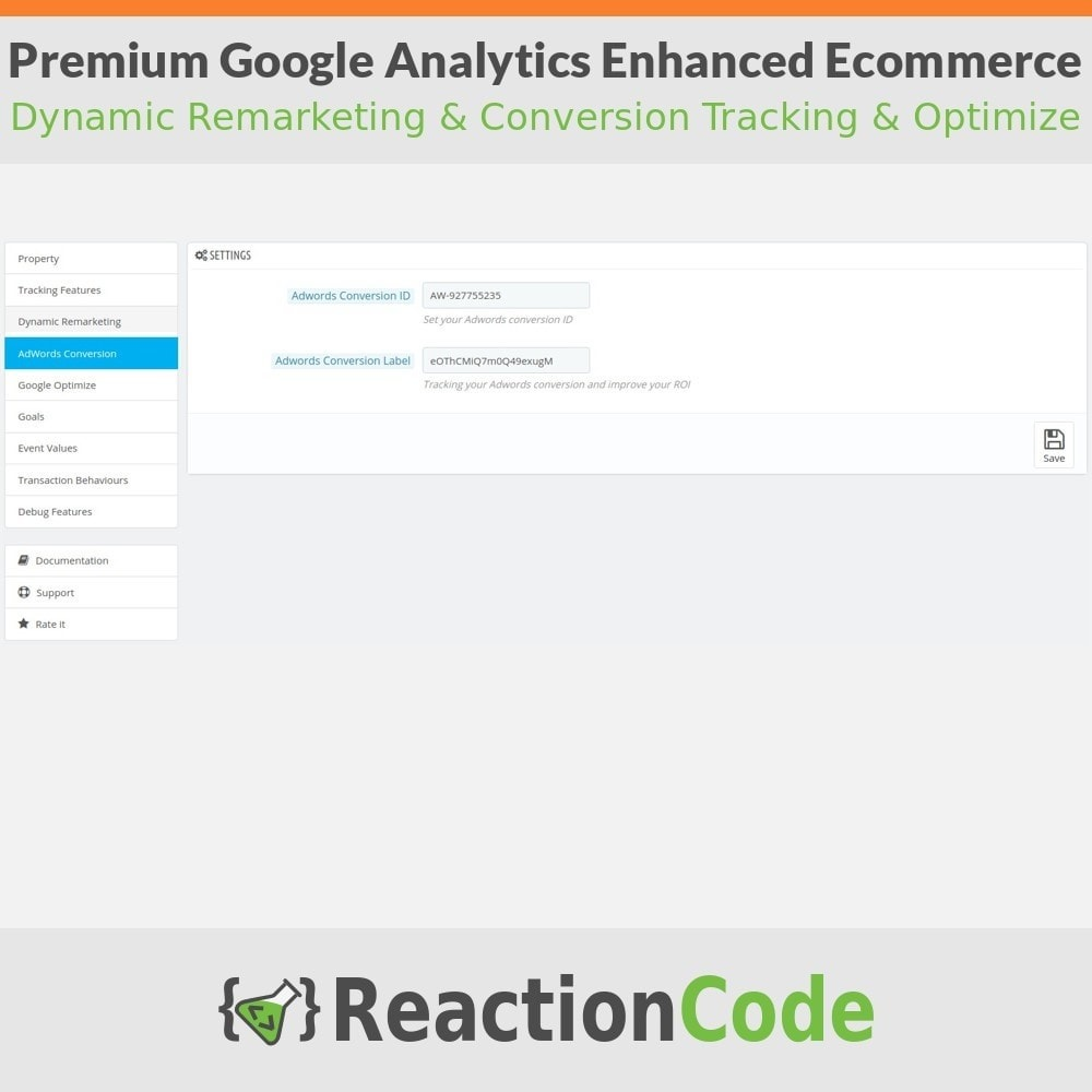 module - Informes y Estadísticas - Premium Google Analytics Enhanced Ecommerce - 5