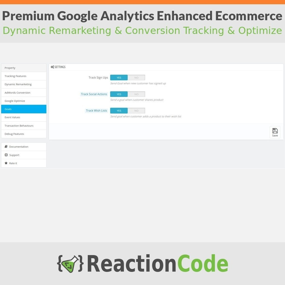 module - Analyses & Statistieken - Premium Google Analytics Enhanced Ecommerce - 7