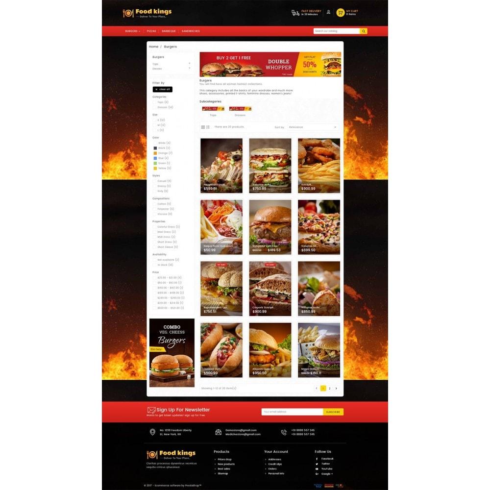 theme - Gastronomía y Restauración - Food Kings - 4