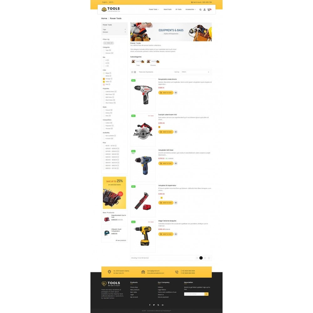 theme - Maison & Jardin - Construction Tools Store - 5