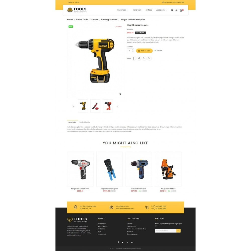 theme - Maison & Jardin - Construction Tools Store - 6