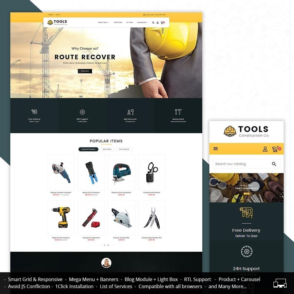 theme - Hogar y Jardín - Construction Tools Store - 2
