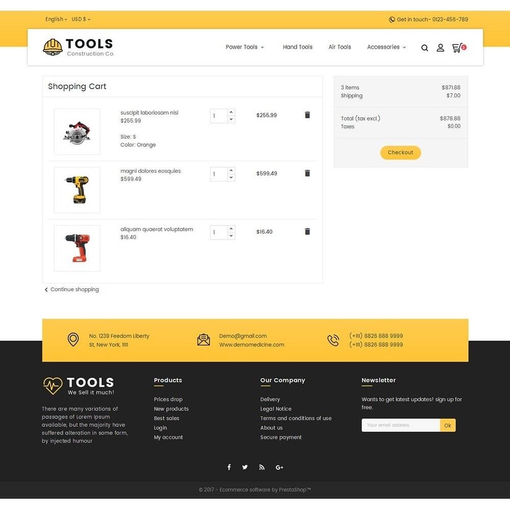 theme - Hogar y Jardín - Construction Tools Store - 8