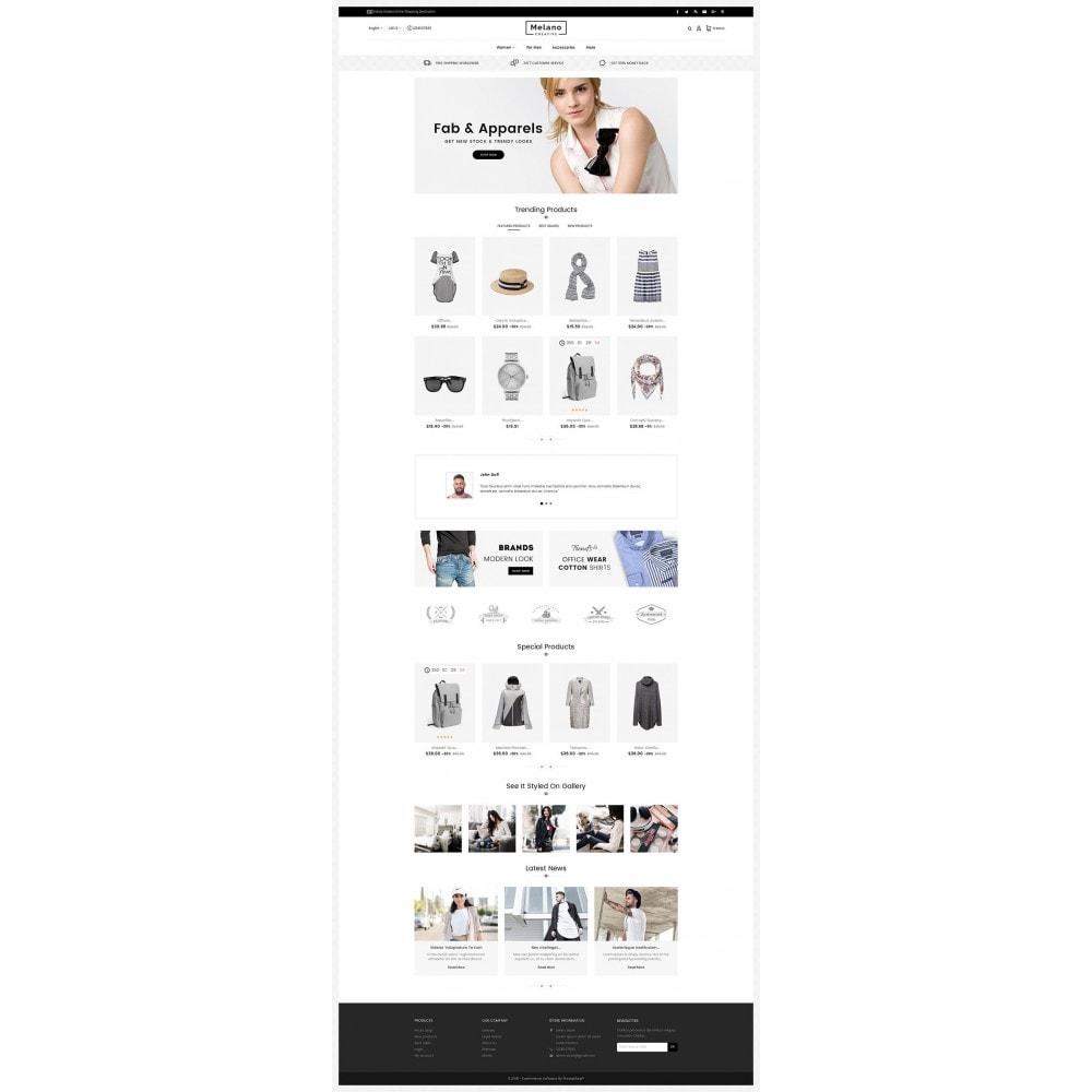 theme - Mode & Chaussures - Melano Creative Fashion - 3