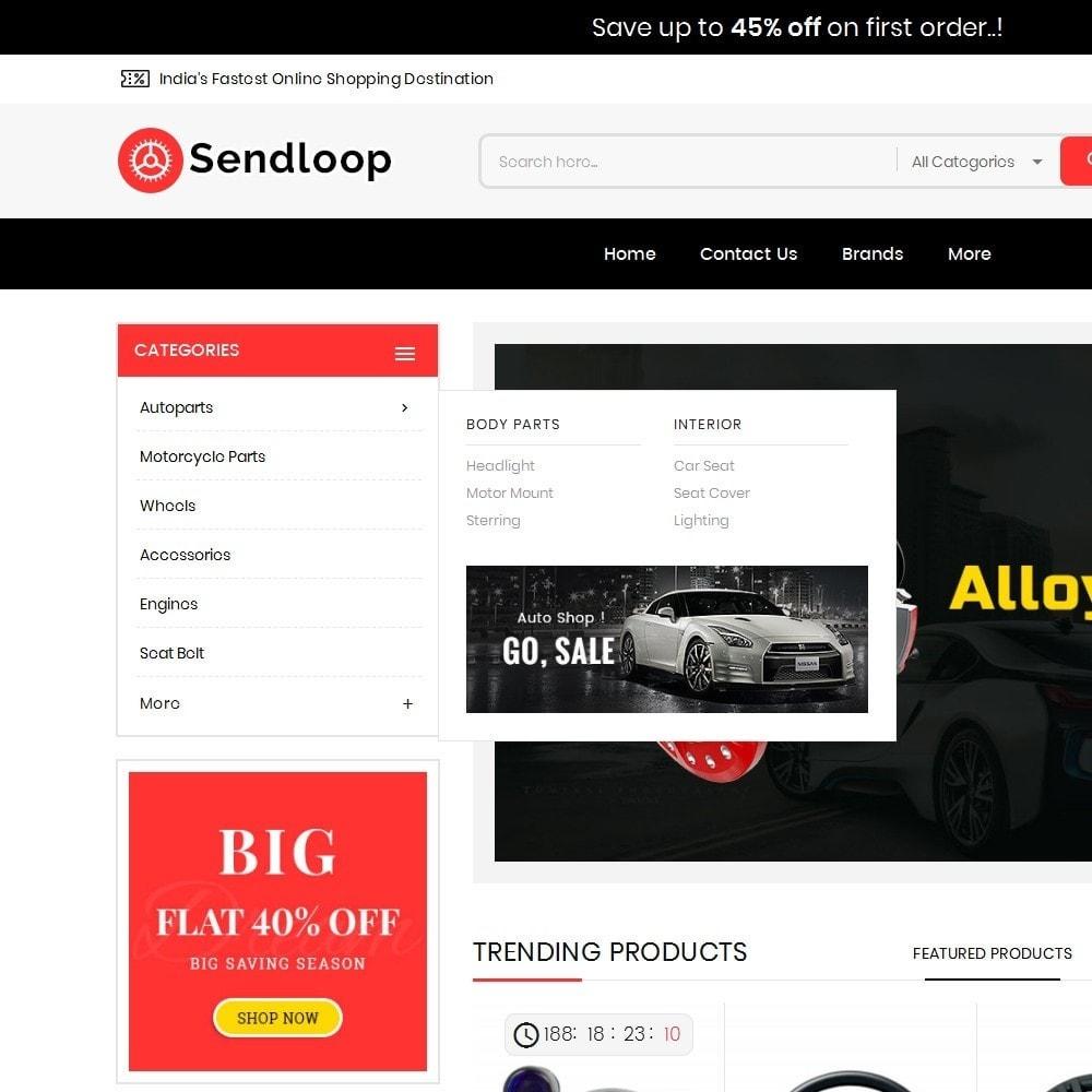 theme - Coches y Motos - Melano Auto Parts Loop - 9