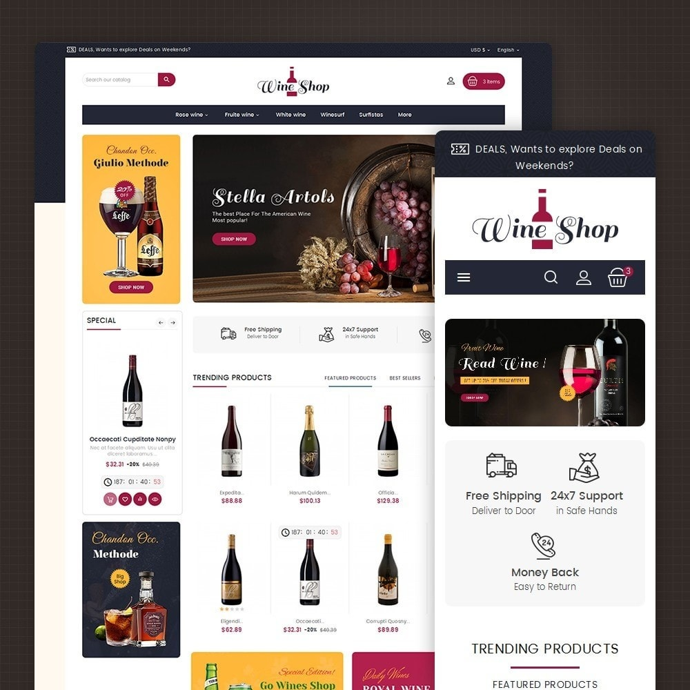 theme - Bebidas y Tabaco - Mega Wine Club - 2