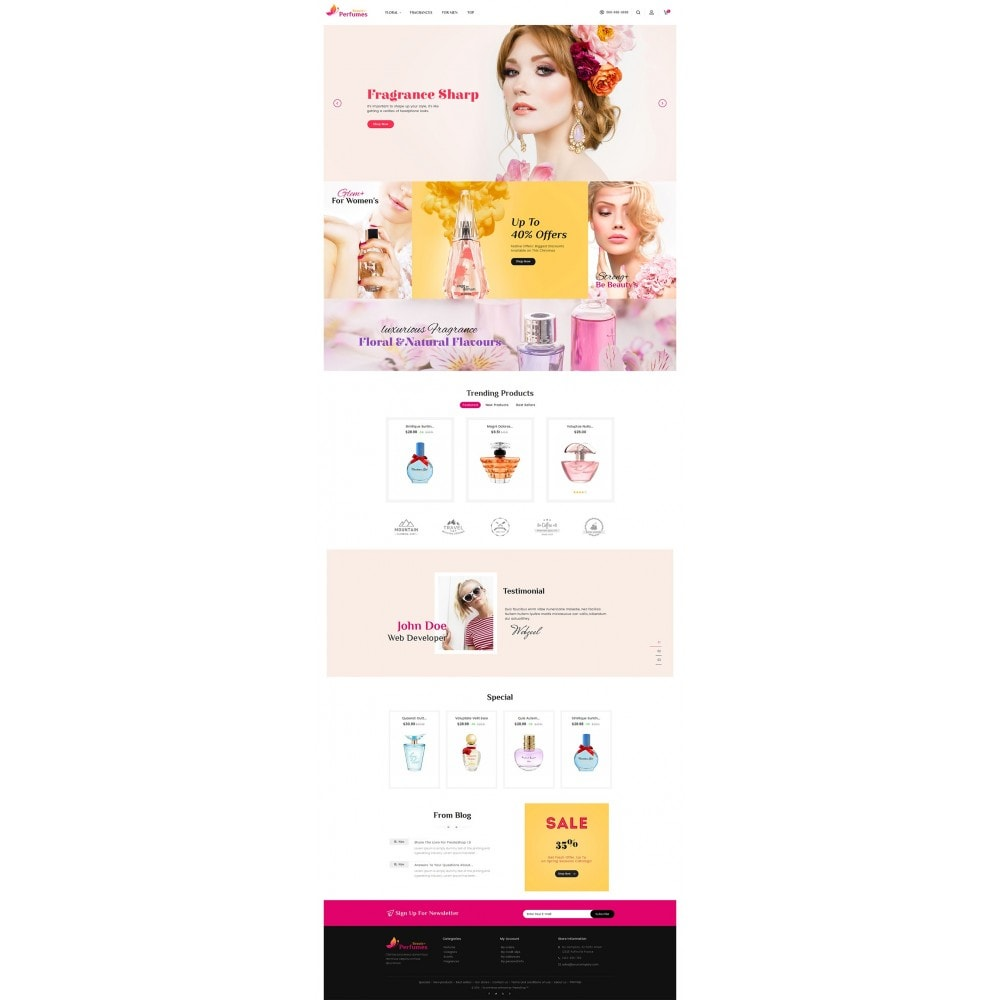 theme - Salute & Bellezza - Beauty Perfume Store - 3