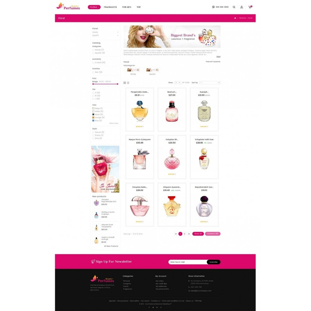 theme - Salud y Belleza - Beauty Perfume Store - 4