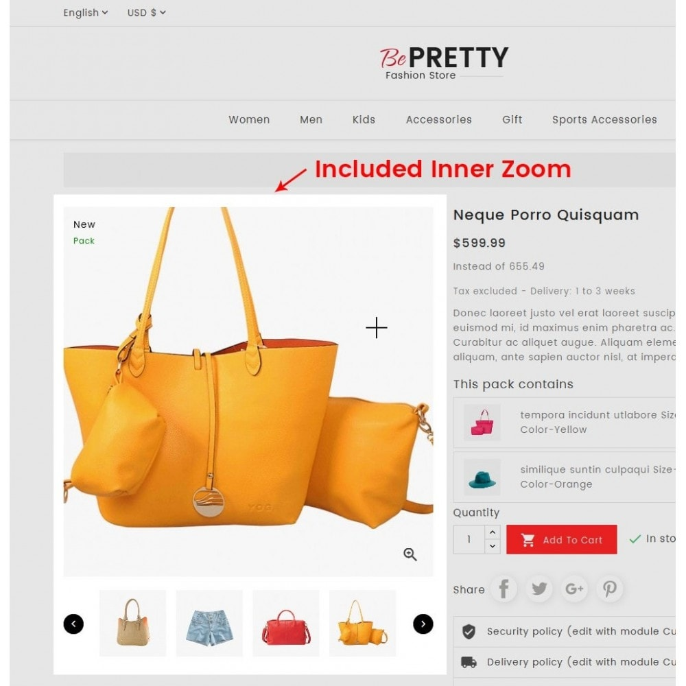 theme - Moda y Calzado - BePretty Fashion Store - 6