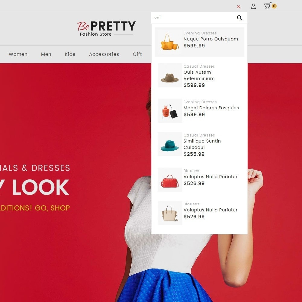 theme - Moda y Calzado - BePretty Fashion Store - 12