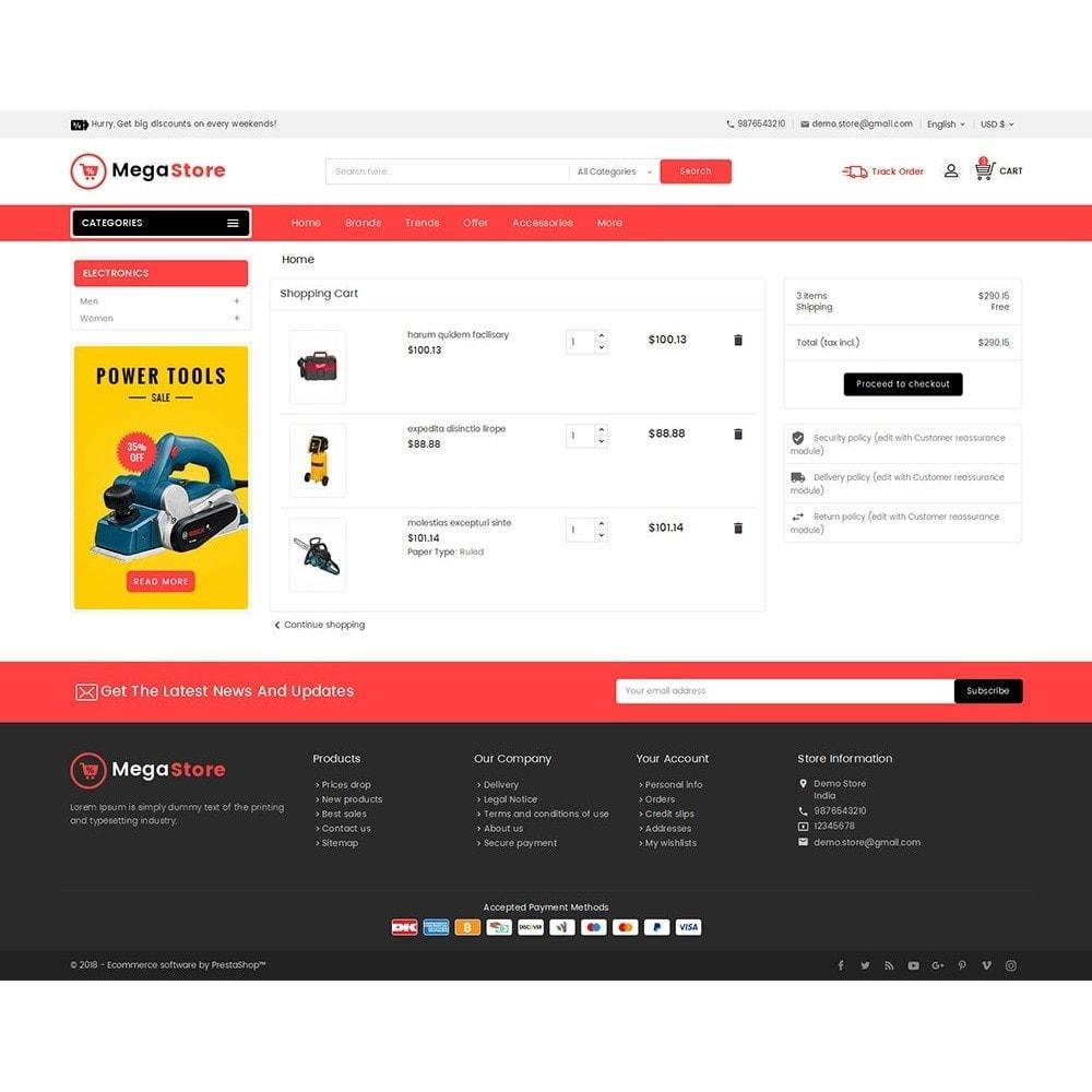 theme - Electrónica e High Tech - Mega Power Tools Store - 7