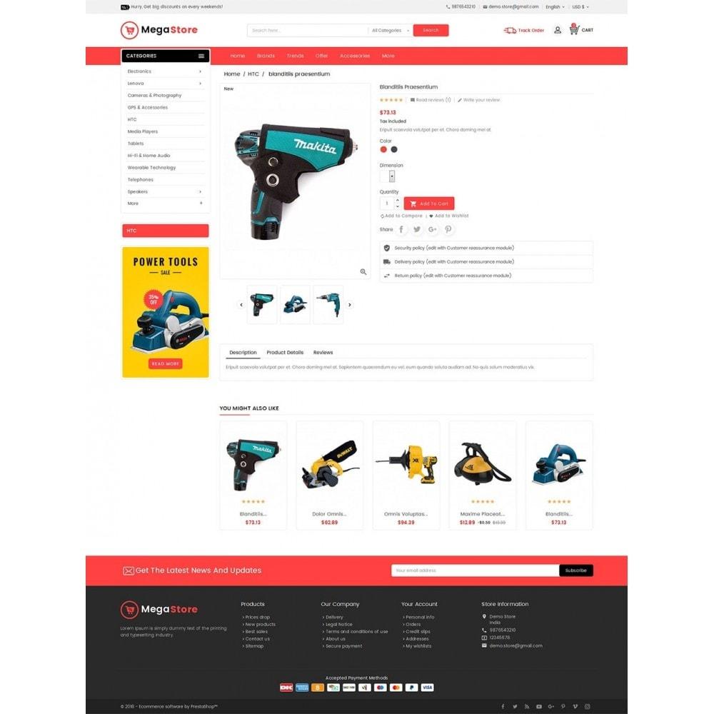 theme - Elektronik & High Tech - Mega Power Tools Store - 6