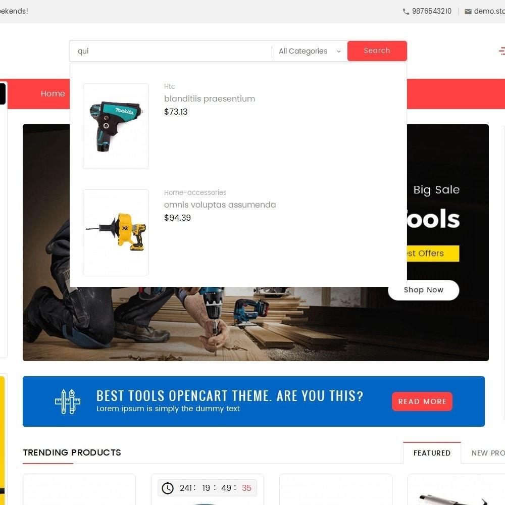 theme - Elektronik & High Tech - Mega Power Tools Store - 10