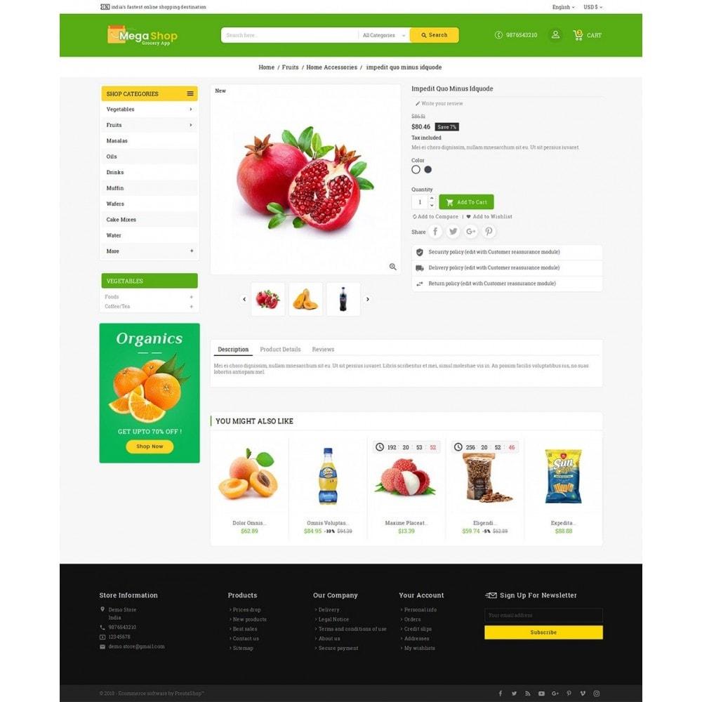 theme - Gastronomía y Restauración - Mega Grocery Shop - 6