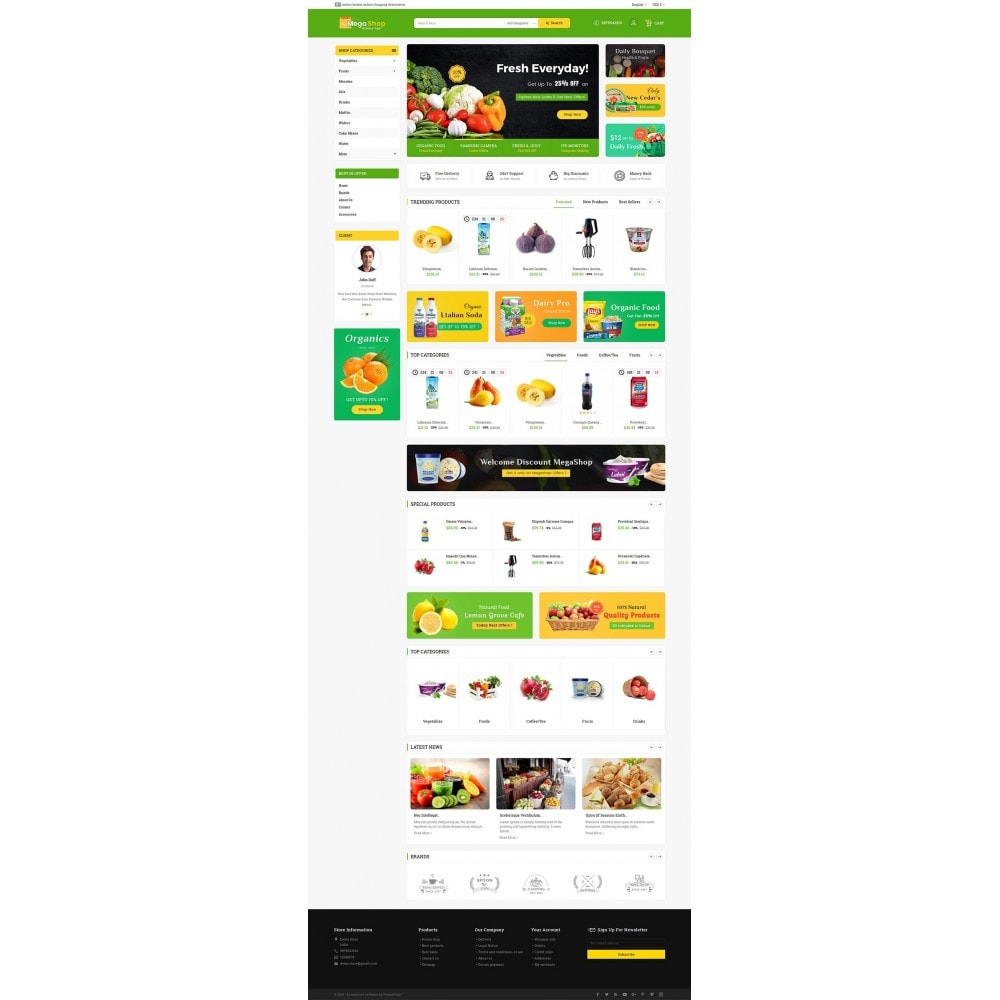 theme - Lebensmittel & Restaurants - Mega Grocery Shop - 3