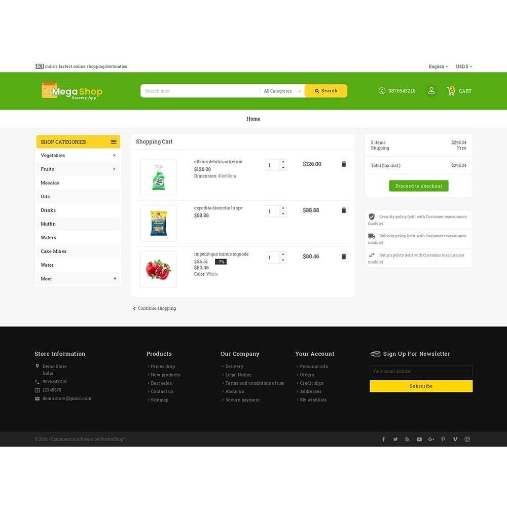 theme - Cibo & Ristorazione - Mega Grocery Shop - 7