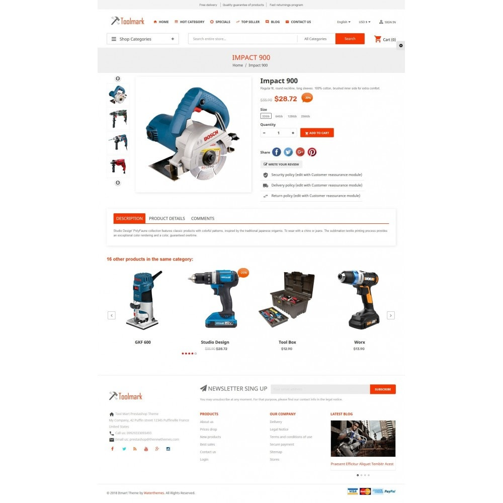 theme - Home & Garden - Tools Smart - 6