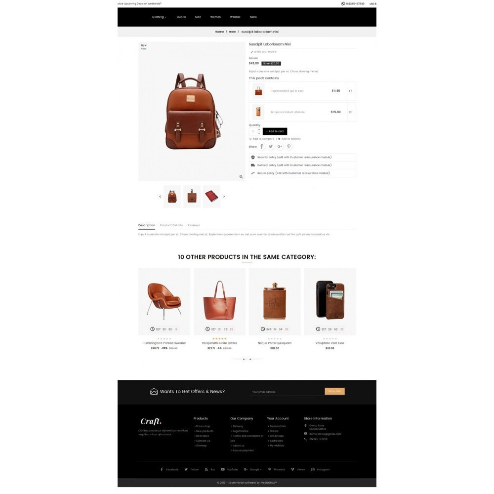 theme - Maison & Jardin - Leather Crafts - 5