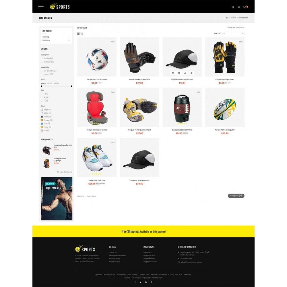 theme - Deportes, Actividades y Viajes - Sports Store - 4