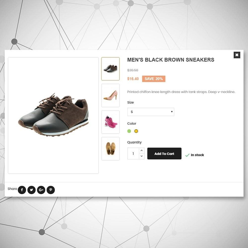 theme - Moda & Calzature - Negozio di scarpe urbane - 7