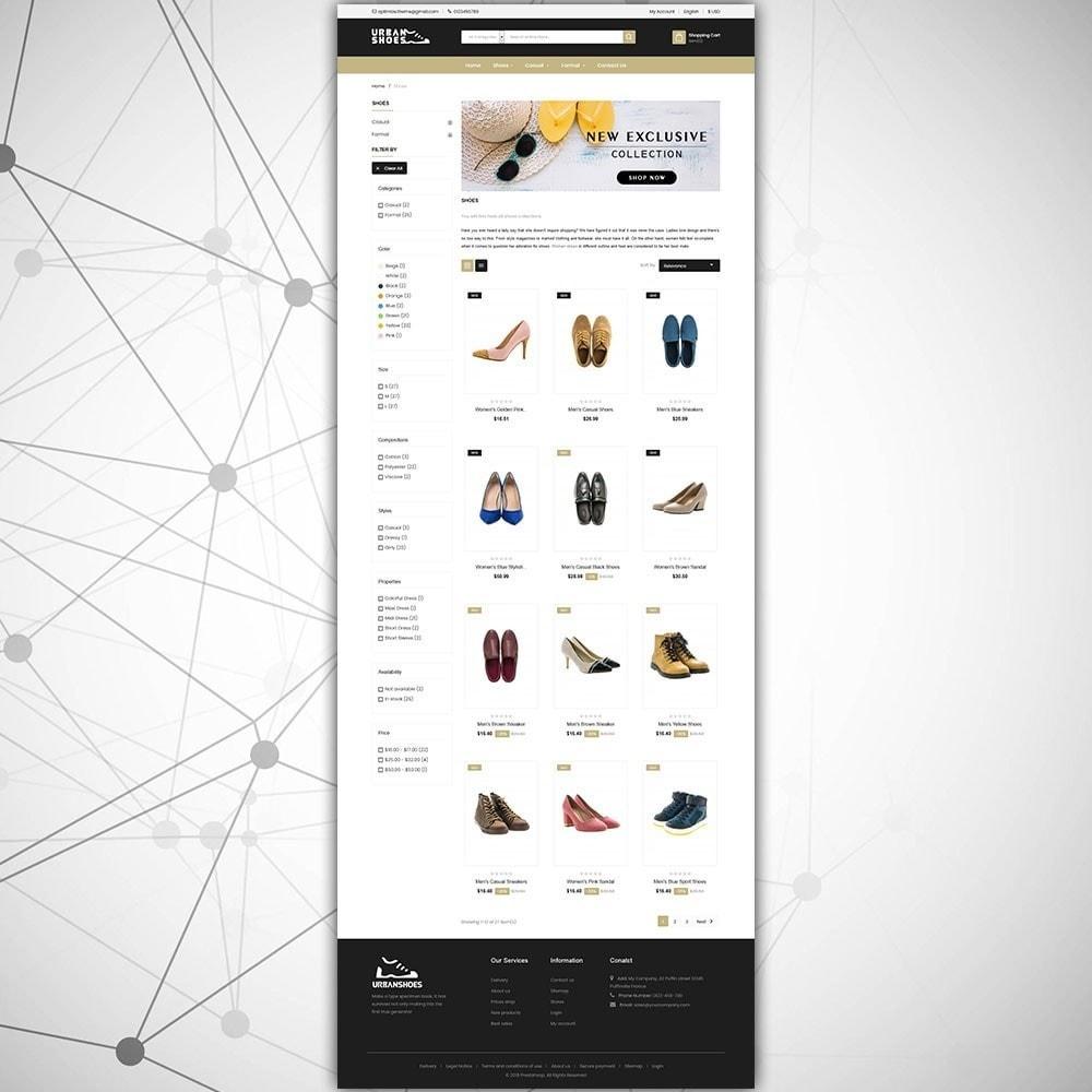 theme - Mode & Schoenen - Stedelijke schoenenwinkel - 4