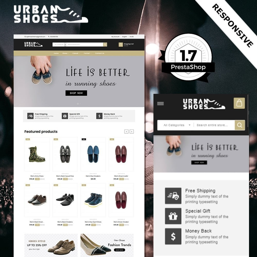 theme - Moda & Obuwie - Urban Shoes Store - 2