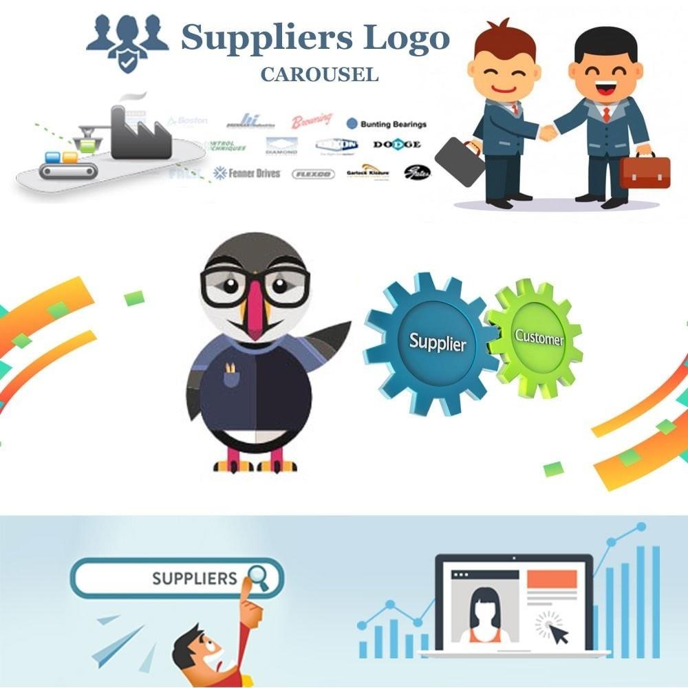 module - Sliders & Galerias - Suppliers logo carousel - 1