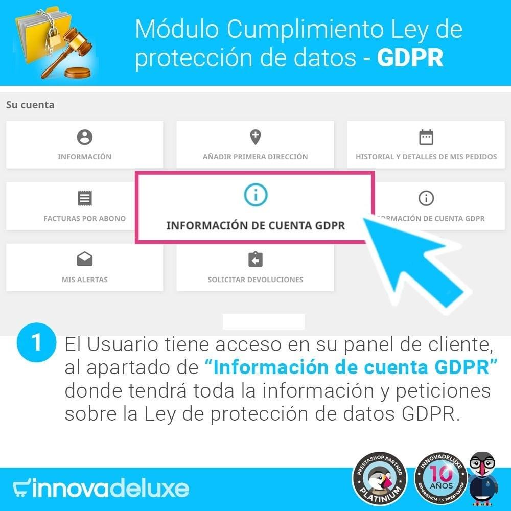 module - Marco Legal (Ley Europea) - Cumplimiento Ley de protección de datos - RGPD - 2