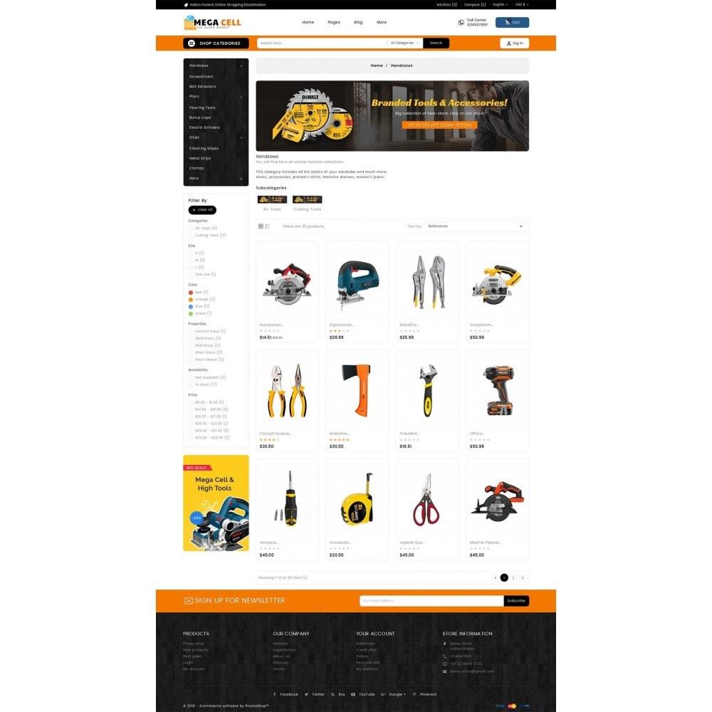 theme - Heim & Garten - Mega Cell Tools Equipment - 4