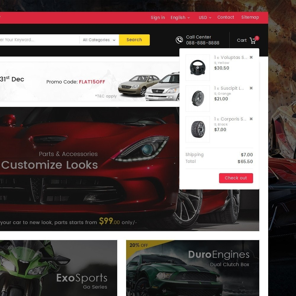 theme - Auto & Moto - Mega Auto Parts - 11