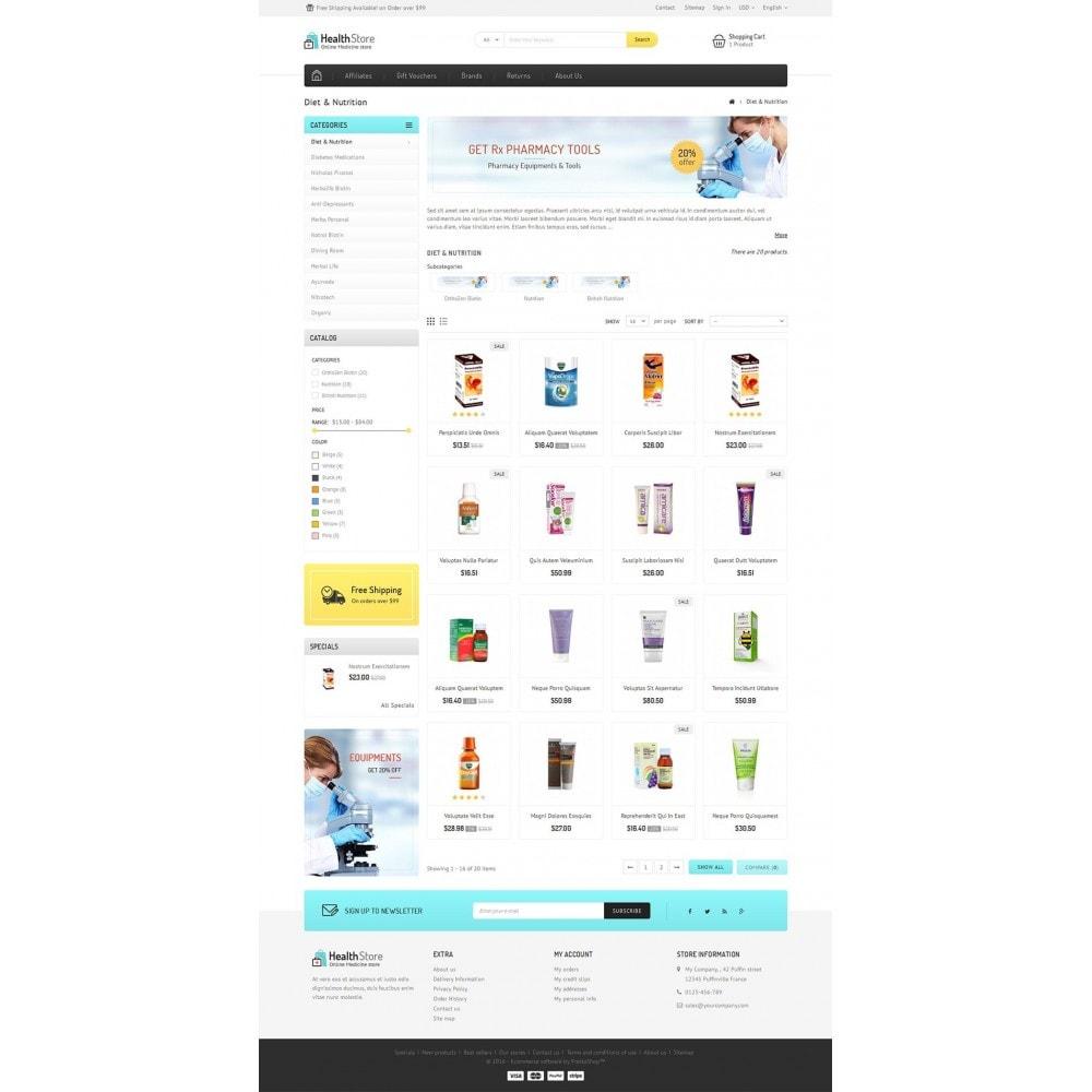 theme - Salud y Belleza - Medicine Store - 4