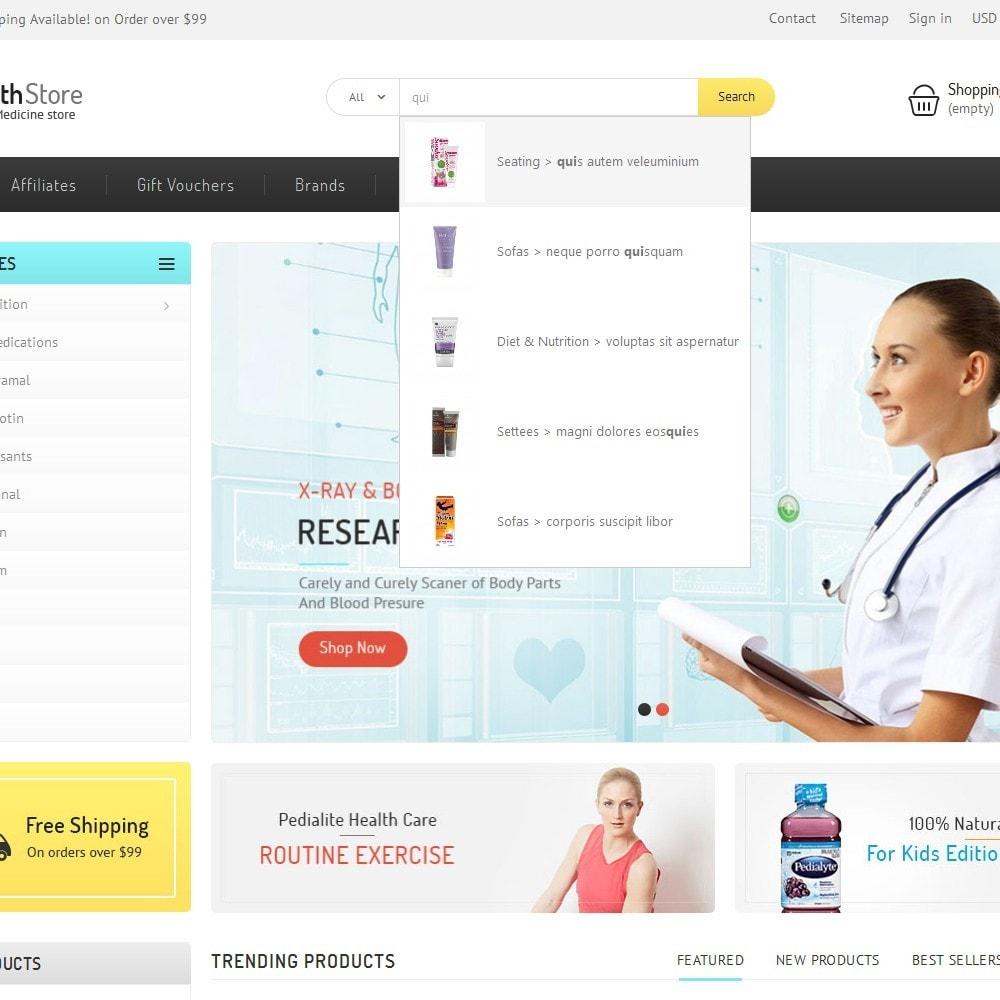 theme - Salud y Belleza - Medicine Store - 9