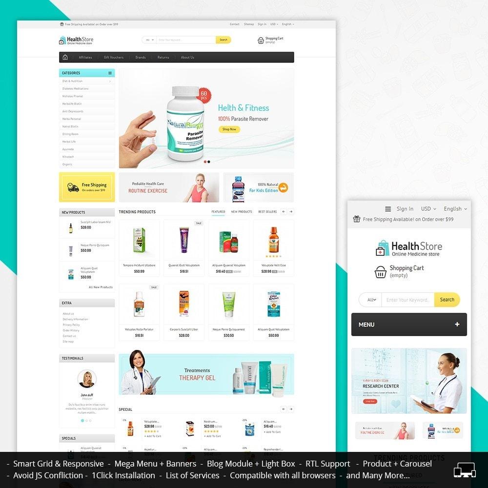 theme - Salute & Bellezza - Medicine Store - 2
